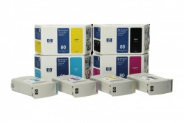 DesignJet -1050C/1055CM  Cartridges and Printheads