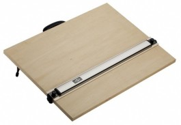 PLB Lightweight Drawing Board with Straightedge